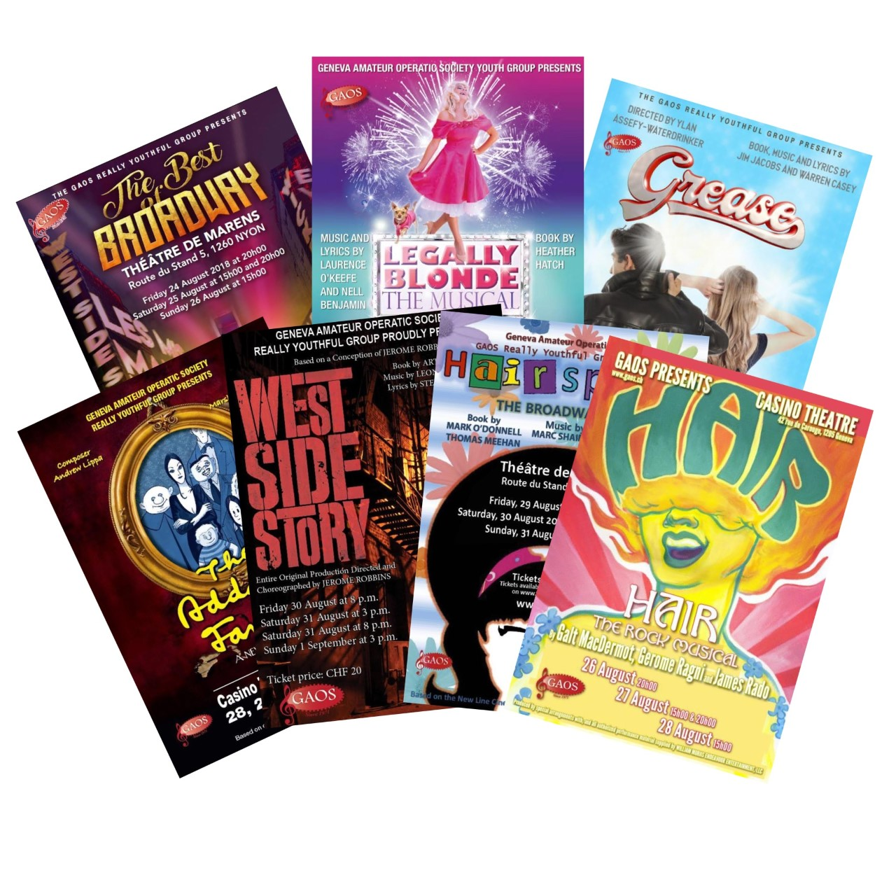 Youth Show Programmes